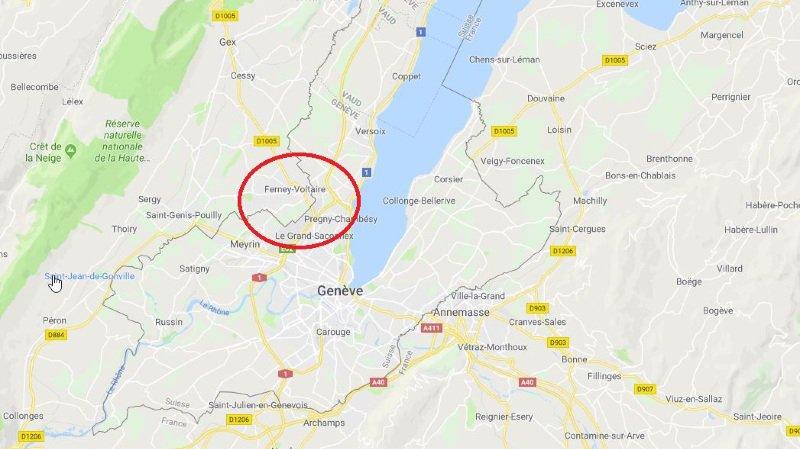 Ferney-Voltaire (F): un Suisse de 81 ans retrouvé sans tête à une centaine de mètres de la frontière