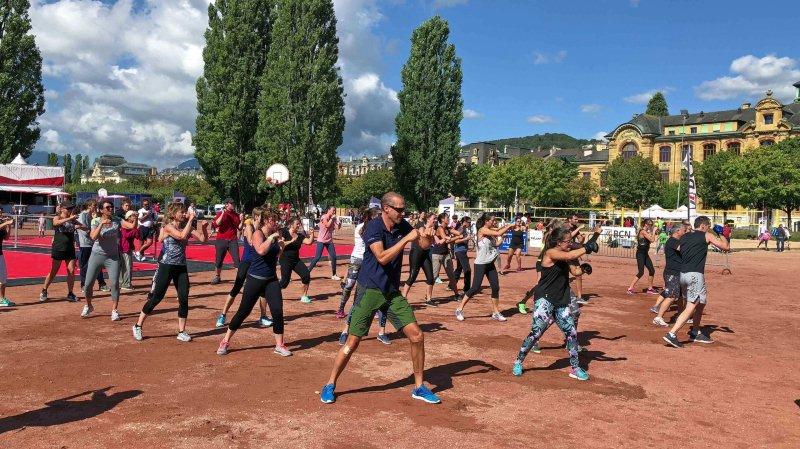 Neuchâtel: du fun et un max de sports aux Jeunes-Rives