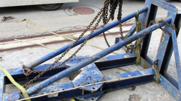 Glaris: une pièce métallique de 500 kilos tombe sur l'A3, aucun blessé