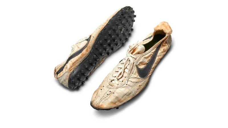 """A l'origine, les """"Moon Shoe"""" ont été imaginées pour les concurrents américains d'athlétisme aux Jeux Olympiques de 1972."""