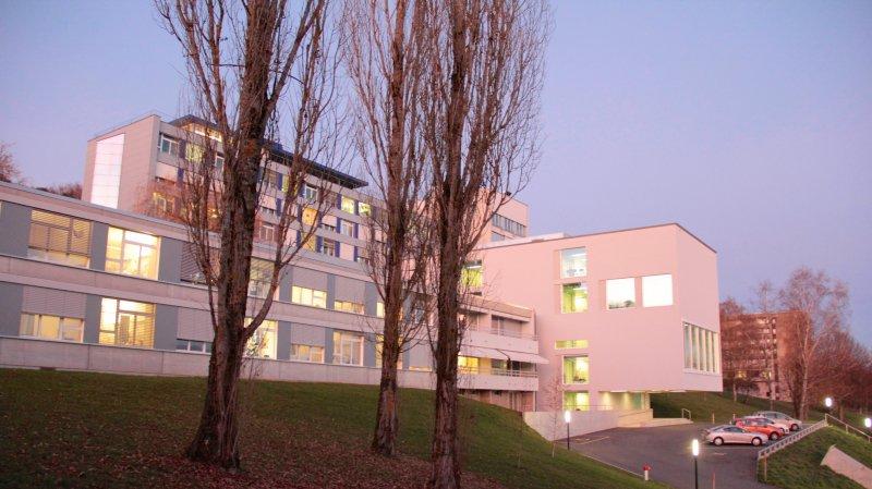 Les locaux jouxtent ceux de l'établissement hospitalier de Porrentruy.
