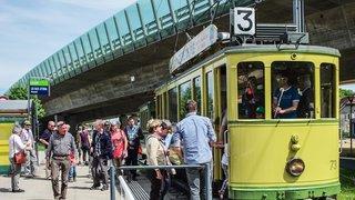 Le tram historique Le Britchon reprend du service sur le Littoral neuchâtelois