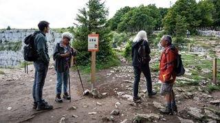 Des petits pas pour la nature au Creux-du-Van