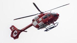 Le Boéchet: héliporté après une sortie de route