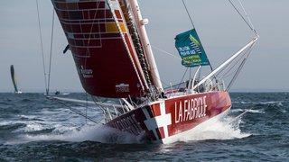 Traversée de l'Atlantique nord à la voile: le Genevois Alan Roura explose le record de plus de 12 heures