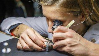 Baisse de plus de 10% des exportations horlogères en juin