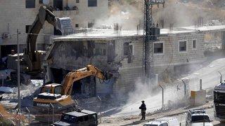 Démolition controversée par Israël de maisons palestiniennes