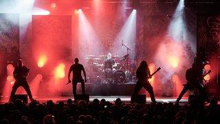 Le Locle: Meshuggah, des fous sur la scène du Rock Altitude Festival