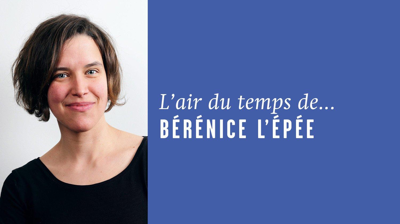 «Geste barrière et mort sociale», l'air du temps de Bérénice L'Épée