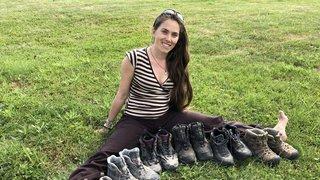 Pour Caroline Moireaux, le bonheur est dans le pied