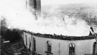 Il y a 100 ans, le Grand Temple de la Chaux-de-Fonds partait en fumée