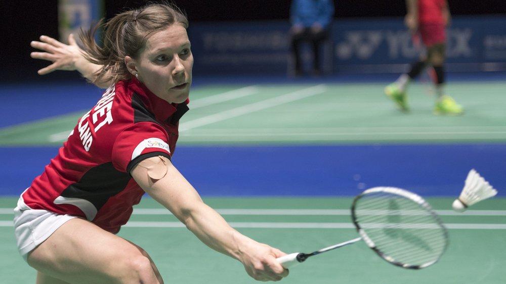 Sabrina Jaquet est depuis plusieurs années la «porte-drapeau» du badminton helvétique.