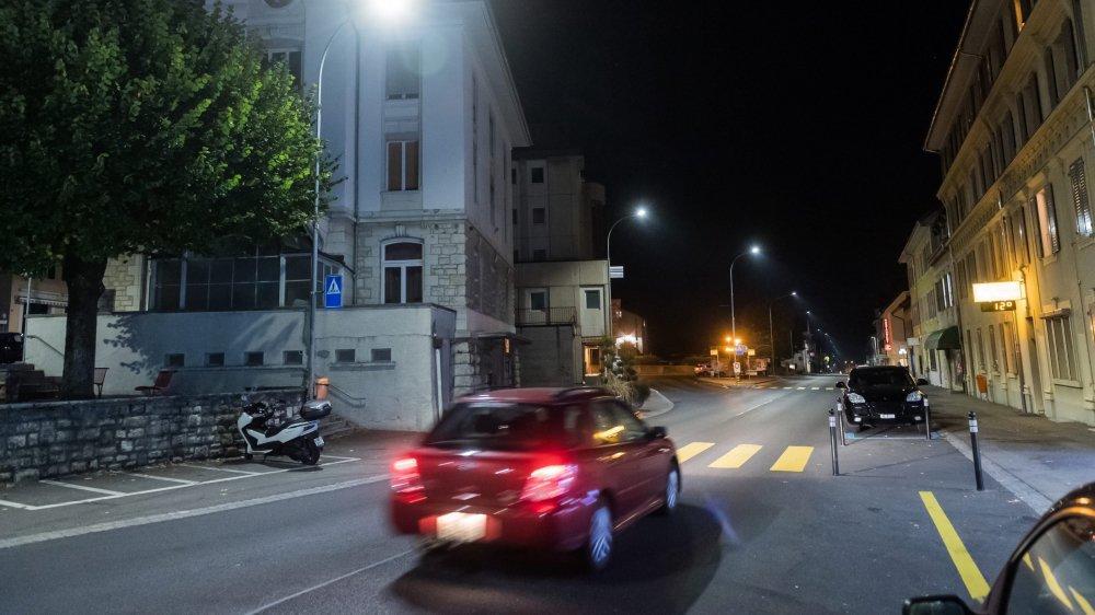 La commune de Val-de-Ruz met en place l'extinction nocturne de son éclairage public, village par village, sauf les passages pour piétons qui restent éclairés.