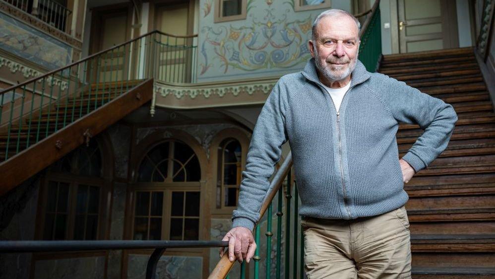 Alain Bringolf - ici à l'Ancien Manège en octobre dernier - a siégé au Conseil communal de La Chaux-de-Fonds de 1977 à 1995.