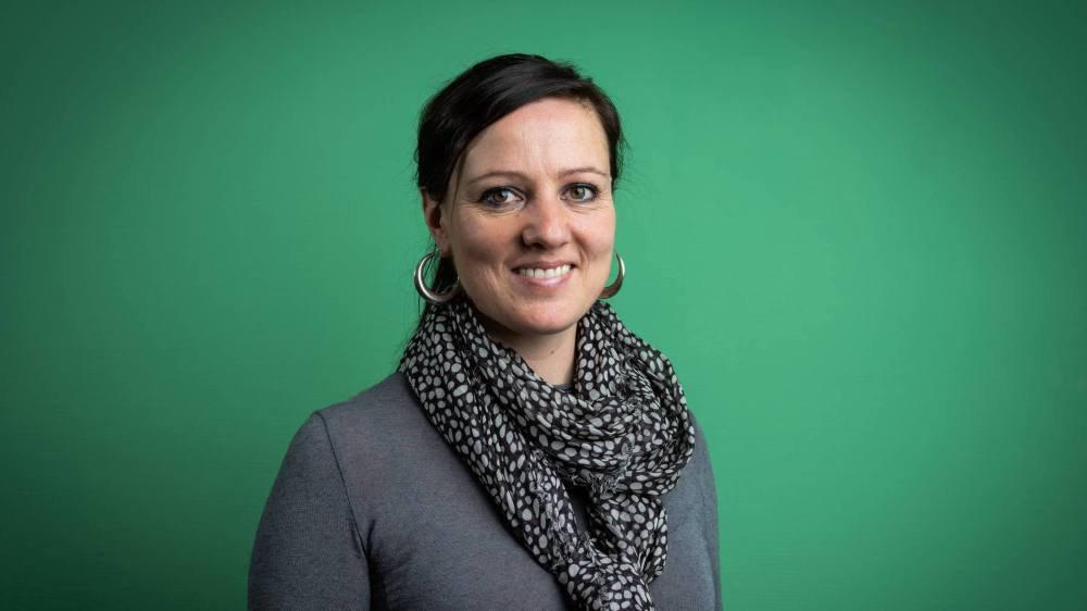Laure-Emmanuelle Perret-Aebi, docteure en chimie, specialiste de l'intégration du solaire dans la construction. Mars 2019