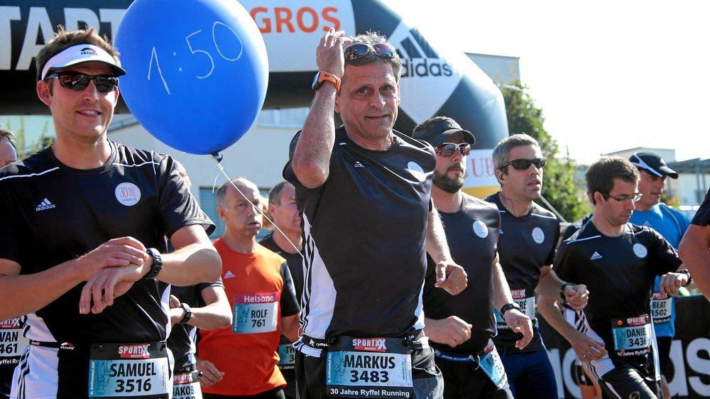 Markus Ryffel fait courir des milliers de personnes chaque année.