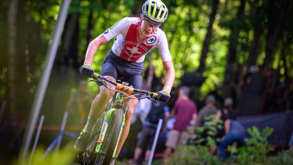 Alexandre Balmer n'a pas fini de courir sur son vélo de montagne, ni avec celui de route.
