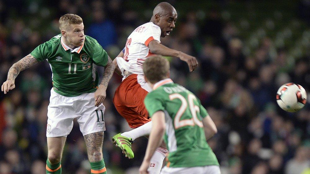 Gelson Fernandes et la Suisse avaient perdu 1-0 lors de leur dernier match en Irlande.