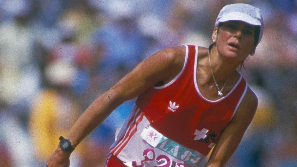 Gabriela Andersen Schiess a marqué le premier marathon féminin de l'histoire des Jeux Olympiques. C'était à Los Angeles en 1984.