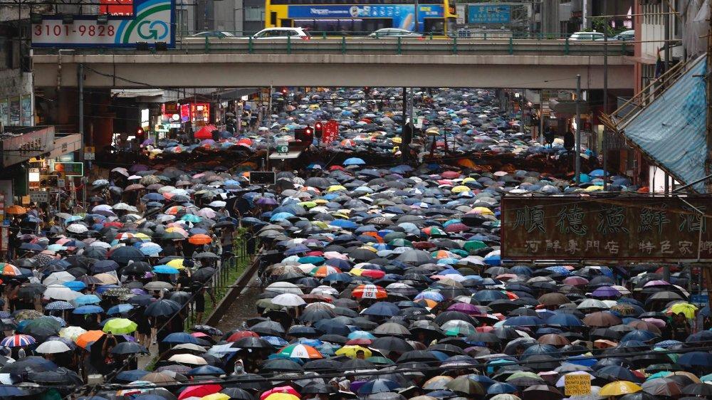 Plus de 1,7million de personnes ont défilé hier.
