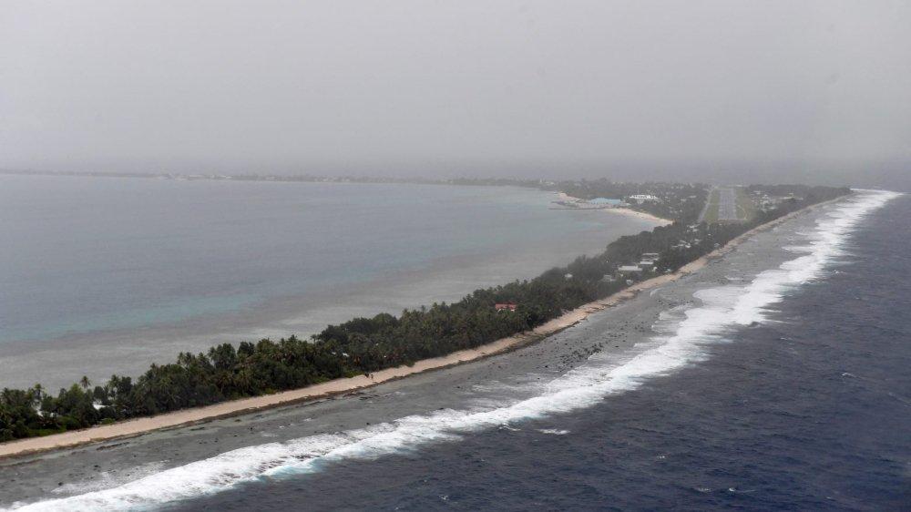 L'archipel de Tuvalu est concerné en premier lieu par le réchauffement climatique et la montée des eaux de l'océan Pacifique.