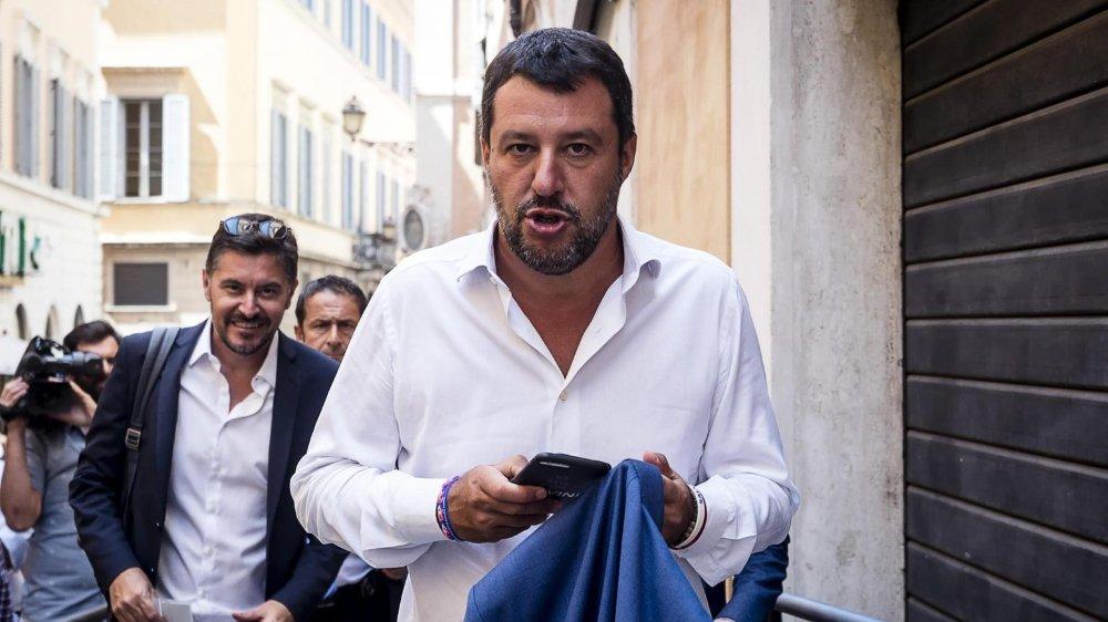 Matteo Salvini doit faire face à un retournement de situation inattendu avec le ralliement du Parti démocrate à ses ex-alliés du M5S.