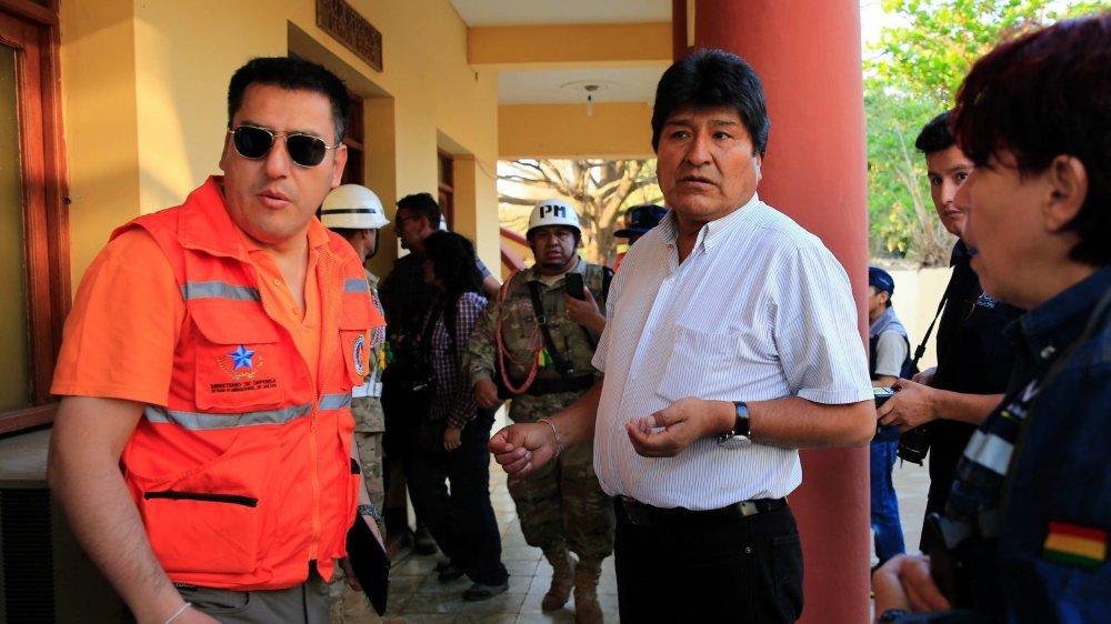 Le président bolivien Evo Morales pointé du doigt.