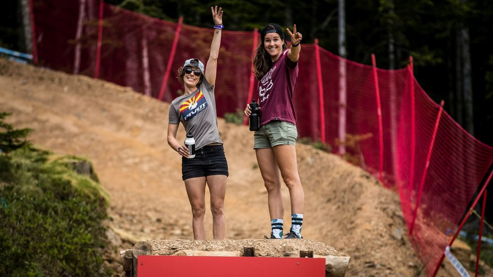Emilie Siegenthaler (à gauche) et Camille Balanche visent haut au Québec.