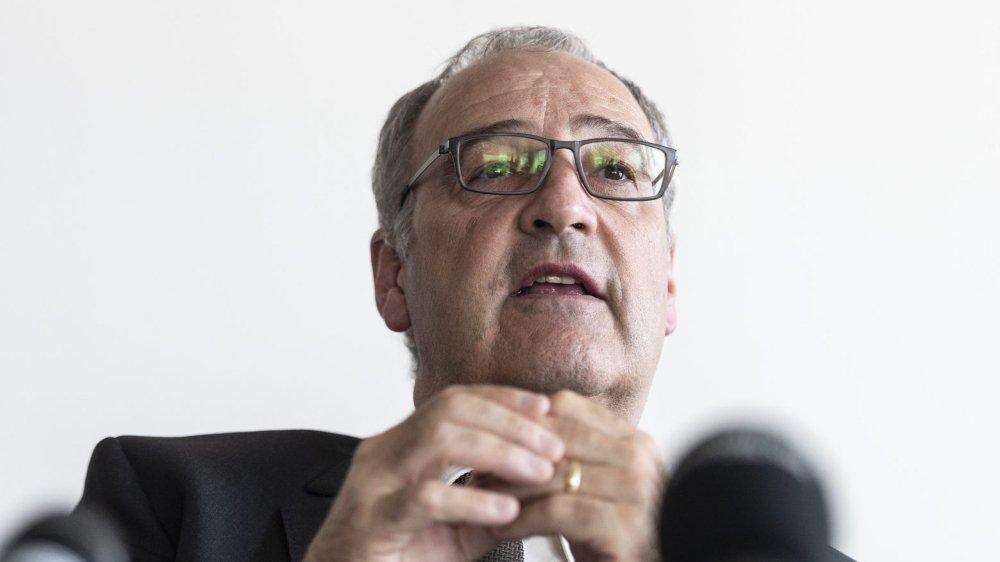 Guy Parmelin espère pouvoir faire ratifier l'accord avec le Mercosur par le parlement.