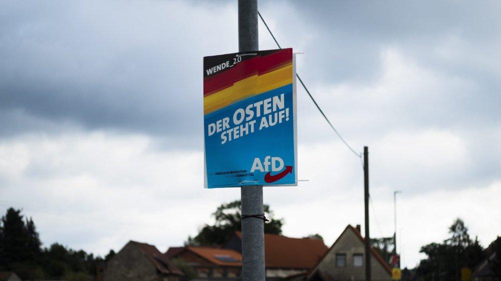L'AfD espère que l'Est se lèvera à ses côtés.