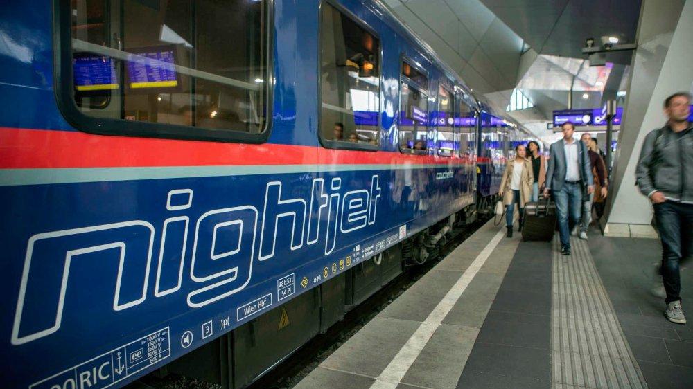 Les chemins de fer autrichiens prévoient, pour 2019, une augmentation de 10% de la fréquentation des trains de nuit, les Nightjets.