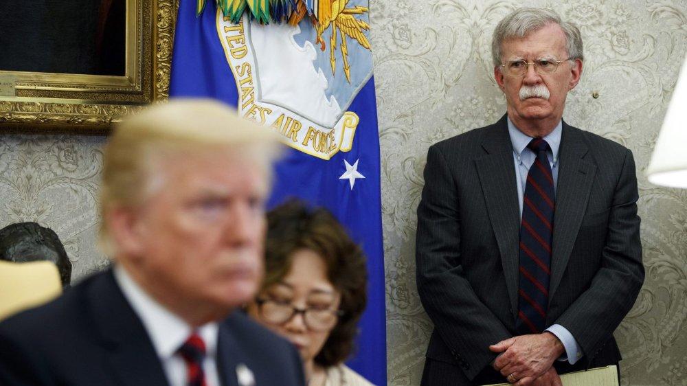 John Bolton a été limogé, hier, par le président américain.