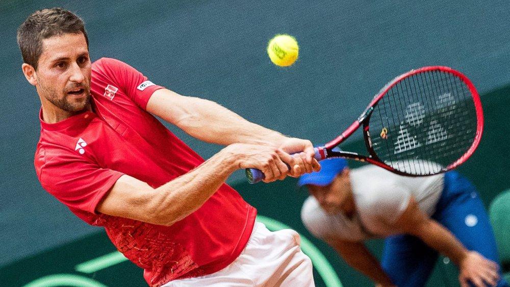 Matricule 286 à l'ATP, Sandro Ehrat s'est offert le 90e joueur mondial.