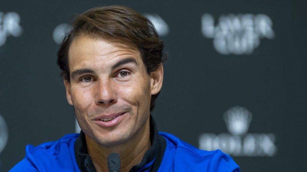 Rafael Nadal est toujours animé par la passion du tennis.