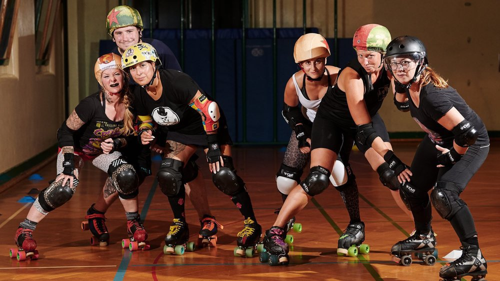 Le roller derby, un sport qui se cherche une reconnaissance.