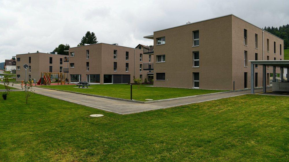 Inauguration du nouveau quartier des Charlettes, à La Sagne.