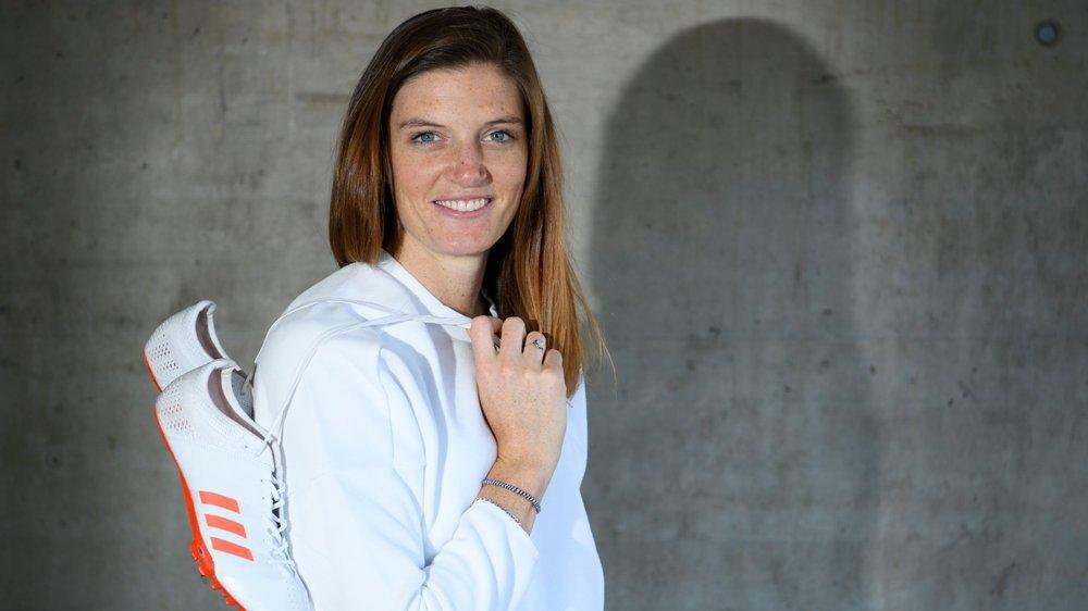 Lea Sprunger est championne d'Europe en salle sur 400 mètres.