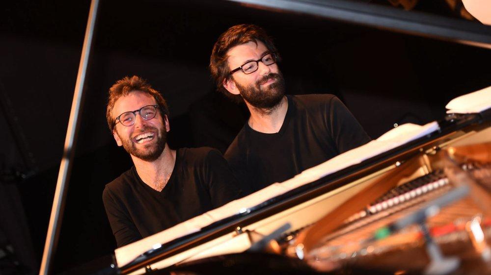 Antoine Françoise (à gauche) et Gilles Grimaître allieront leurs talents pour un programme dense mercredi soir.
