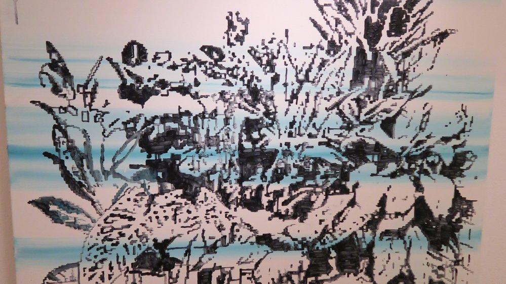 L'univers pixelisé de Frédéric Clot.