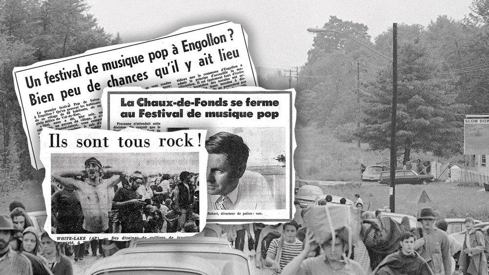 Un an après Woodstock, en 1970, le canton de Neuchâtel s'enflamme autour de l'organisation d'un festival.