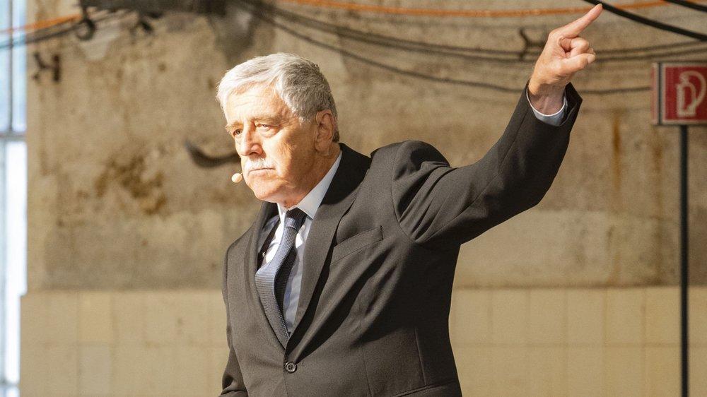 Michel Kullmann dans le rôle titre.