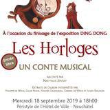 Conte musical « Les Horloges » en live