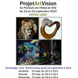 Exposition internationale de projet art vision