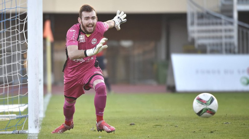 Maxime Brenet portera désormais les couleurs du Stade Nyonnais.