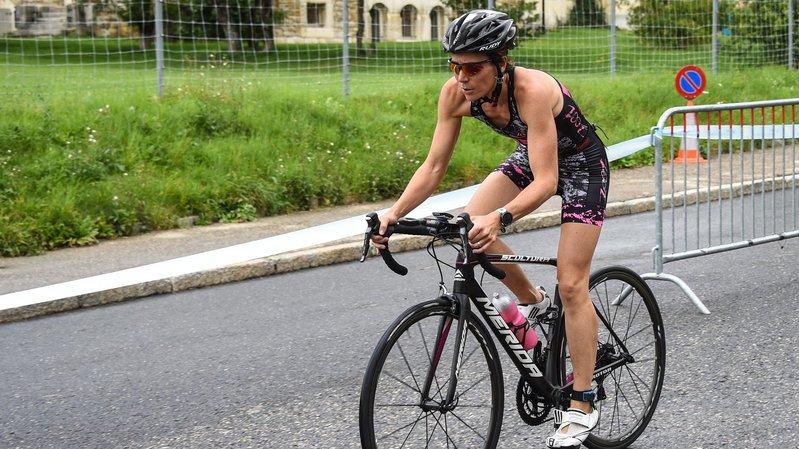 Valérie Schmidt a réalisé une incroyable remontée à vélo du côté de Nice.