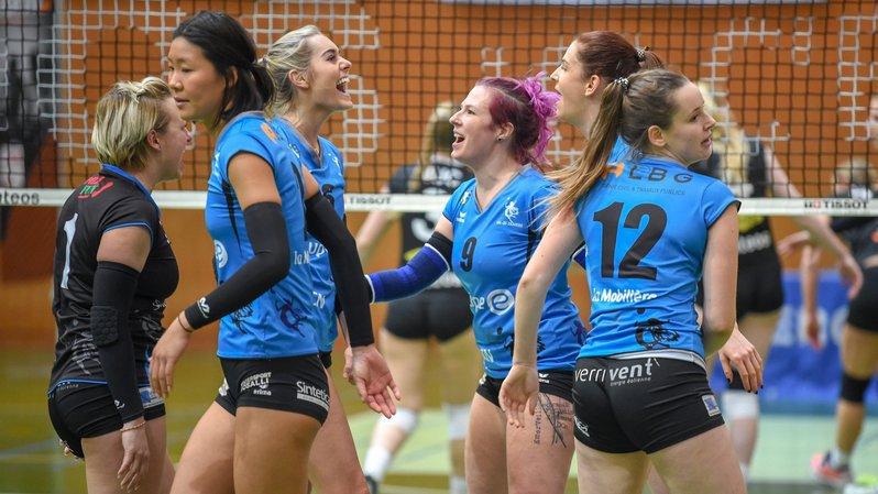 Les volleyeuses de Valtra joueront bien en LNA la saison prochaine.