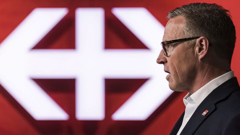 """Le successeur d'Andreas Meyer à la tête des CFF doit- parler français? Oui, estiment 55% des lecteurs du """"Blick""""."""