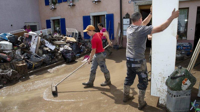L'association Inond'Actions VdR s'engage en faveur des sinistrés du Val-de-Ruz