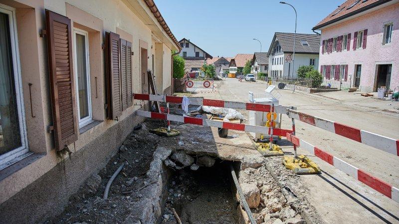 Val-de-Ruz: la commune renforce le personnel pour répondre aux besoins des sinistrés