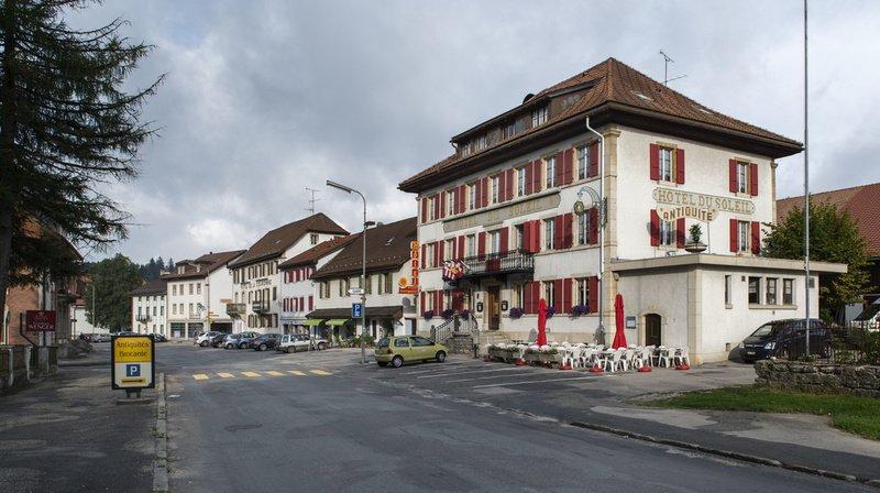 Dans un premier temps, seuls les villages (ici Le Noirmont) au sens du plan directeur cantonal pourront bénéficier du programme.